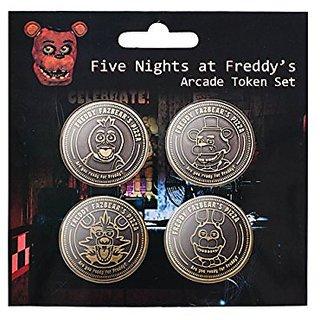 Five Nights at Freddys Arcade Token Set