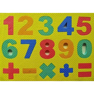 Foam Numbers and Math Puzzle - Babys Learning and Development Toy