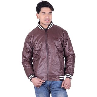 Adi  Adi Coffee Round Neck Long Sleeve Jacket For Men