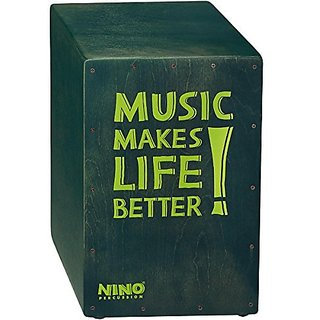 Nino Percussion NINO952GY Better Life Series Cajon, Grey