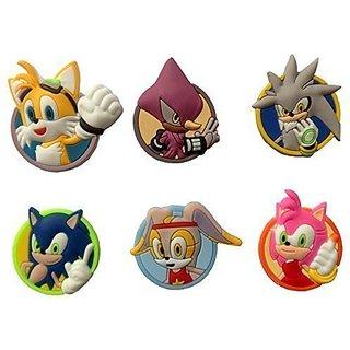 Sonic the Hedgehog Fridge Magnets 6 Pcs Set #1
