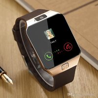 DZ09 Smart Bluetooth Watch With Calling Facility, Camera, Fitness Tracker, Memory Slot, Works With Ios/Android