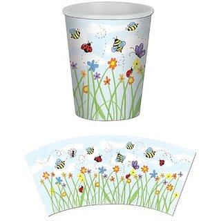 Garden Beverage Cups (8 Pkg)
