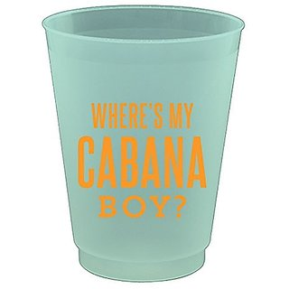 Slant Collection Plastic Flex Cups Wheres My Cabana Boy