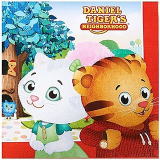 Daniel Tiger Party Supplies - Lunch Napkins (20)