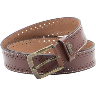 Red Tape Brown Pure Leather Belts