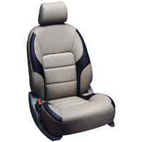 Hi Art Beige & Black Seat Cover For Honda I dtec(All Models) (Option 2)