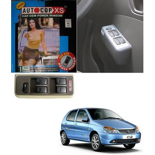 Autocop 4 Door Power Window for Tata indica EV2 with automatic roll up relay - By Carsaaz