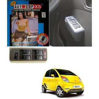 Autocop 4 Door Power Window for Tata Nano with automatic roll up relay - By Carsaaz