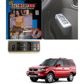 Autocop 4 Door Power Window for Tata Safari  with automatic roll up relay - By Carsaaz