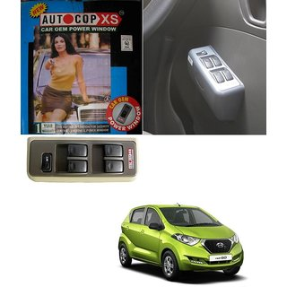 Autocop 4 Door Power Window for Datsun Redi-Go with automatic roll up relay - By Carsaaz