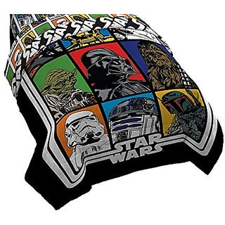 Star Wars Classic Reversible Comforter, Twin Full