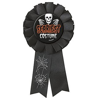 Scariest Costume Halloween Award Ribbon