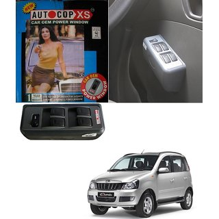 Autocop 4 Door Power Window for Mahindra Quanto with automatic roll up relay - By Carsaaz