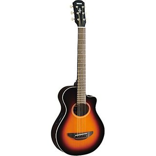 Yamaha APXT2 3 4 Thinline Acoustic-Electric Cutaway Guitar Old Violin Sunburst