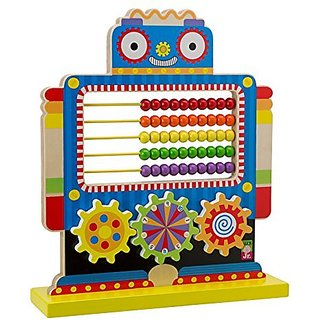 ALEX Jr. Count N Spin Abacus Robot
