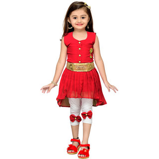 Adiva Girls Party Wear Dress for Kids