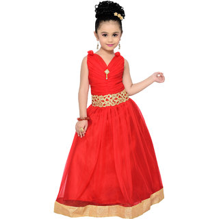 Adiva Girls Party Wear Gown for Kids