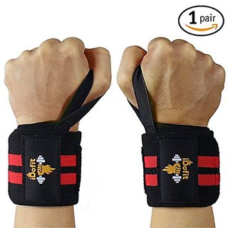 iDofit Wrist Wraps For Weightlifting - 18