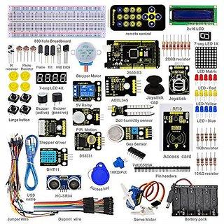Keyestudio Super Starter Kit Rfid Learning Kit for Arduino with Mega 2560 R3