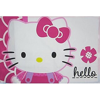 Hello Kitty Hello Adventure (Pillowcase Only) Size STANDARD Girls Kids Bedding