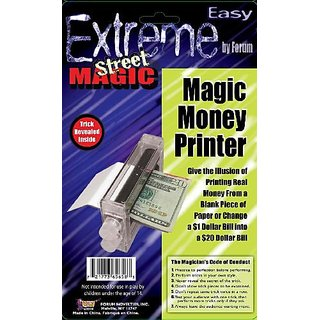 Forum Novelties Extreme Street Magic - Magic Money Printer
