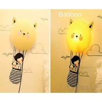 Rc Tots 3D Helium Balloon Night Lamp Wall Sticker