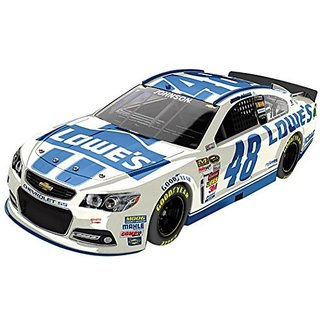 Jimmie Johnson 48 Lowes White 2014 SS Chevrolet Sprint Cup Diecast Car, 1:24 Scale Elite HOTO, Official Diecast of NASCA