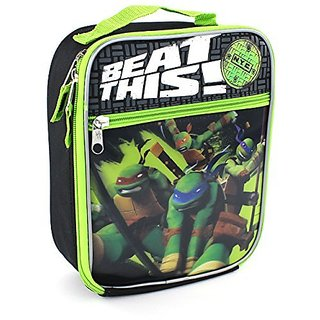TMNT Ninja Turtles Black Lunch Box