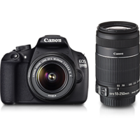 Canon EOS 1200D Kit (EF S18-55 IS II + 55-250 Mm IS II) SLR - 3481578