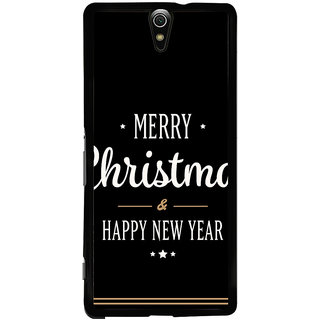 Ayaashii Merry Chirstmas Wishes Back Case Cover for Sony Xperia C5 Ultra Dual::Sony Xperia C5 E5553 E5506::Sony Xperia C5 Ultra