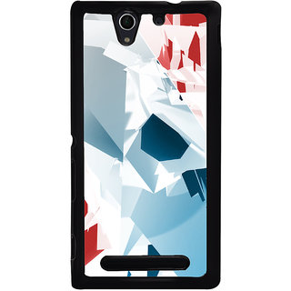Ayaashii Colorful Abstract Back Case Cover for Sony Xperia C3 Dual D2502::Sony Xperia C3 D2533