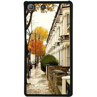 Ayaashii Footpath Click Back Case Cover for Sony Xperia M5 Dual E5633 E5643 E5663:: Sony Xperia M5 E5603 E5606 E5653