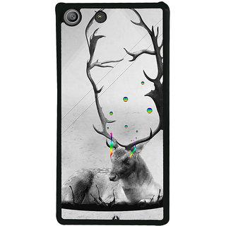 Ayaashii Animated Dear Back Case Cover for Sony Xperia M5 Dual E5633 E5643 E5663:: Sony Xperia M5 E5603 E5606 E5653