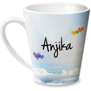 Hot Muggs Simply Love You Anjika Conical Ceramic Mug 350ml