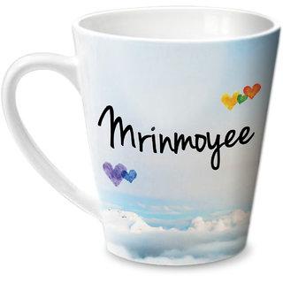 Hot Muggs Simply Love You Mrinmoyee Conical Ceramic Mug 350ml