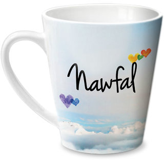 Hot Muggs Simply Love You Nawfal Conical Ceramic Mug 350ml