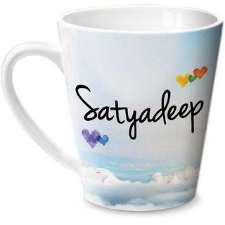 Hot Muggs Simply Love You Satyadeep Conical Ceramic Mug 350ml