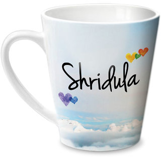 Hot Muggs Simply Love You Shridula Conical Ceramic Mug 350ml