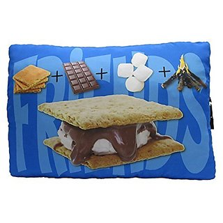 Smores Autograph Pillow,camp Autograph Pillow