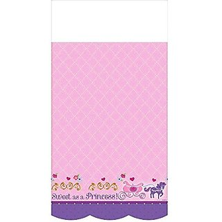 Sofia the First Plastic Table Cover, 54 in x 96 in, Party Supplies