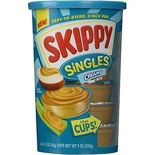 Skippy Peanut Butter Singles Creamy - 6 ct