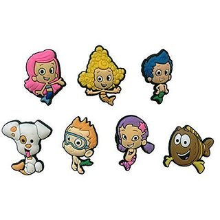 Bubble Guppies Shoe Charms 7 Pcs Set #1