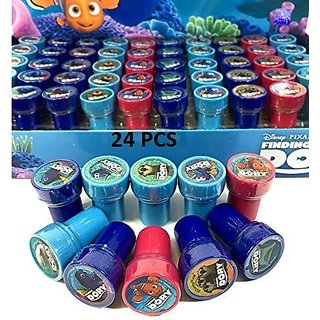 Finding Dory Authentic Licensed 24 Self Inking Stampers Goodie Bags Fillers