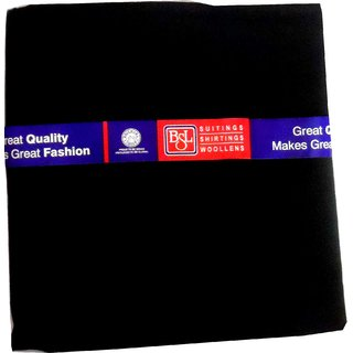 Bsl Black Formal Unstitched Trouser Length 1.2 Mtrs Gift Pack Bsl06