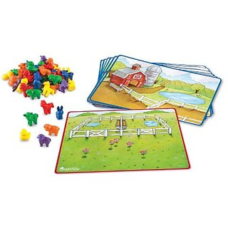 Learning Resources Friendly Farm Math Activity Set
