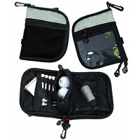 Bags for LessTM Golf Accessory Bag Black/Grey