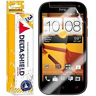 h i DeltaShield BodyArmor - HTC One SV Screen Protector - Premium HD Ultra-Clear Cover Shield with Lifetime Warranty Rep
