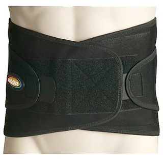 Maxar Airprene Breathable Neoprene Sport Belt Lumbo Sacral Support/Medium/Black