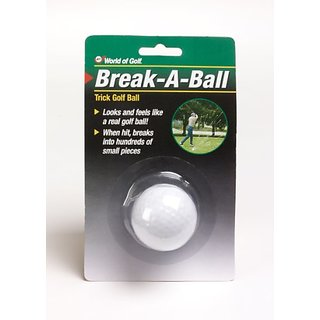 Jef World of Golf Gifts and Gallery, Inc. Break a Ball (White)